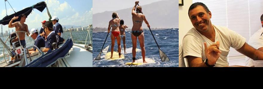 Navegação segura para Stand Up Paddle.